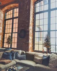 100 Brick Loft Apartments Cozy Style Apartment Christmas Decor Exposed