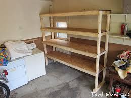 basement shelf garage shelves