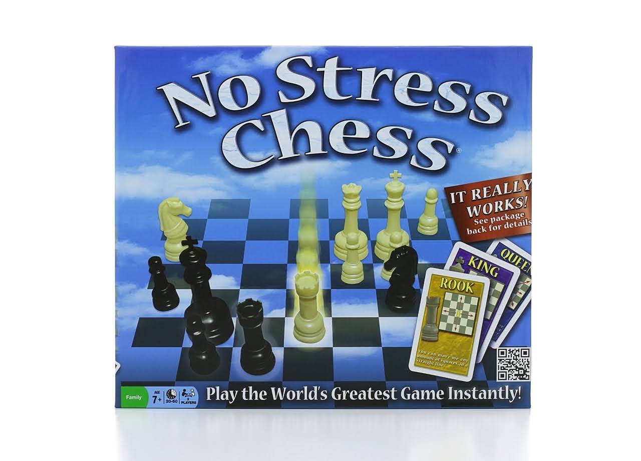 Winning Moves No Stress Chess Game