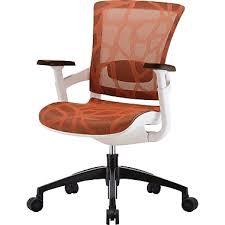 Raynor Skate Ergonomic Mesh fice Chair Adjustable Arms Burnt