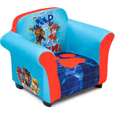 Baby Bath Chair Walmart by Nick Jr Paw Patrol Plastic Frame Upholstered Chair Walmart Com