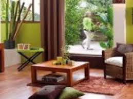 photo décoration salon zen bambou par deco