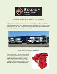 Stadium International Sales And Services By Stadiumtrucks - Issuu Ford Cf8000 Cab 2392 For Sale At Wurtsboro Ny Heavytruckpartsnet Matthews Chevrolet In Vestal A Binghamton Norwich Owego New Truck Inventory Freightliner Northwest York Parts Competitors Revenue And Employees Owler Mack Ch600 Series Cab Mount For Sale 586808 Customer Vehicles Peterbilt City The Best Trucks In 1995 R Model Stock 1572 Hoods Tpi Dump Truck Beds Niagara Performance Brothers Auto Repair Stadium Intertional Sales Services By Stadiumtrucks Issuu Heavy Duty Its About Total Cost Of Ownership 5 New York City Sanitation Trash Garbage Truck Daron Toys Miniature