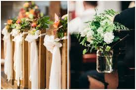 Church Wedding Decorations Ideas Pews Choice Image Wedding