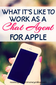 What It s Really Like to Work as a Chat Agent For Apple