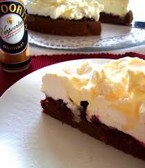 schoko preiselbeer torte mit verpoorten original eierlikör