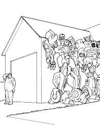 Coloring Page Transformers Pages