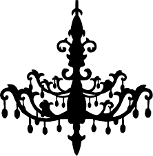 Crystal Chandelier Clipart 1
