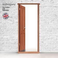 Exterior LPD Hardwood Door Frames for Single Doors in Standard Sizes