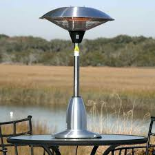 Fire Sense Deluxe Patio Heater Stainless Steel by Fire Sense Round Table Top Halogen Patio Heater Propane Infrared