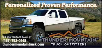 Thunder Mountain Truck Outfitters | Cache Valley Media Group - Food ... Dodge Ram 1500 With Leitner Acs Offroad Truck Bed Rack By A B Food Outfitters Australia Pty Ltd 04646188 Home Truckdomeus Jasontruckcaps Hashtag On Twitter Custom Suv Auto Accsories Facebook Louisiana Global Diesel Performance Oto Titan Boss Van Truck Outfitters Southeastern
