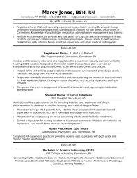 Entry Level Rn 11 Resume For Nurses