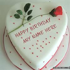 happy birthday with names happy birthday cakes for lover with name