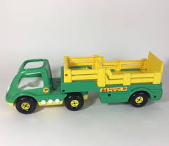 100 Toy Grain Trucks Details About Shelcore Farm Truck Trailer Combo Plastic Vehicle