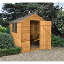8x6 Wood Storage Shed by 8 X 6 All Garden Buildings Popular Wooden Shed Sizes U2013 Next Day
