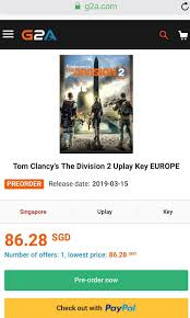 Resident Evil 2, Devil May Cry 5, Tom Clancy's The Division ... G2a Coupon Code Deal Sniper 3 Discount Pay Discount Code 10 Off Inkpare Inom Mode Katespade Com Coupon Jiffy Lube 20 Dollar Another Update On G2as Keyblocking Tool Deadline Extended Premium Customer Benefits G2a Plus How One Website Exploited Amazon S3 To Outrank Everyone Solodyn Manufacturer Best Coupons Clothing Up 70 Off With Get G2acom Cashback Quiplash Lookup Can I Pay With Paysafecard Support Hub G2acom