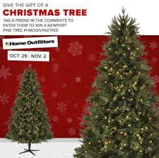 Christmas Tree Types Canada by Win Christmas Tree From Home Outfitters 499 99 Value Free