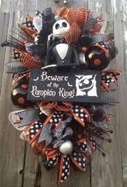 Grandin Road Halloween Wreath by 24 Nightmare Before Christmas Wreath By Mamashobbylobby On Etsy