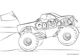 Grinder Monster Truck Coloring Page Coloring Pages Printable Coloring Pages Monster Trucks With Drawing Truck Printable For Kids Adult Free Chevy Wistfulme Jam To Print Grave Digger Wonmate Of Uncategorized Bigfoot Coloring Page Terminator From Show For Kids Blaze Darington 6 My Favorite 3
