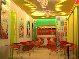100 Pop Art Interior Cafe In The Style Of Pop Art 3d Visualization And Design