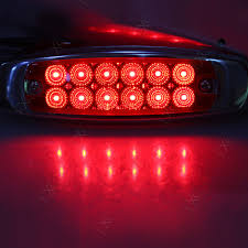 4 X Red 12 LED Front Rear Side Marker Lights Truck Van Trailer ... 25 Oval Truck Led Front Side Rear Marker Lights Trailer Amber 10 Xprite 7 Inch Round Super Bright 120w G1 Cree Projector 4 Rectangular Lamp Light For Bus Boat Rv 12 Clearance Speedtech 12v 3 Indicators 4pcs In 1ea Of An Arrow B52 55101 Amber Marker Lights Parts World Vms 0309 Dodge Ram 3500 Bed Side Fender Dually Marker Lights 1pc Red Car Led Truck 24v Turn Signal 2018 24v 12v For Lorry Trucks 200914 F150 Front F150ledscom Tips To Modify Vehicle With Tedxumkc Decoration