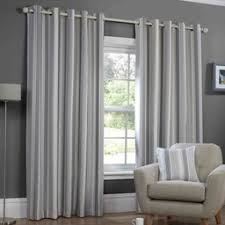Blue Vertical Striped Curtains by Grey Striped Curtains Affordable Curtains Available Terrys Fabrics