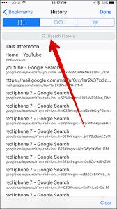 Search Safari History and Bookmarks on iPhone iPad How to