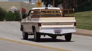 1974 Chevrolet Custom Deluxe / 20 Pickup Truck - YouTube