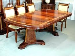 Mahogany Dining Set Table Antique For Sale