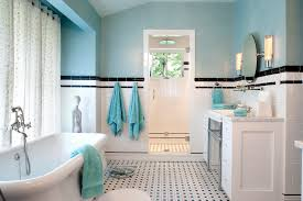 pinwheel tile design with vintage style bathroom traditional and