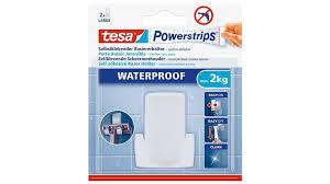 tesa powerstrips waterproof rasiererhalter wave tesa