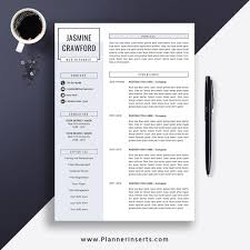 Editable Professional Resume Template 2019, Cover Letter, Office Word  Resume, Simple CV Template, Creative & Modern Resume, Instant Download:  Jasmine ... Editable Professional Resume Template 2019 Cover Letter Office Word Simple Cv Creative Modern Instant Download Jasmine Examples Our Most Popular Rumes In Templates Pdf And Free Downloads Design For 11 Amazing It Livecareer Gain Resumekraft For Guide Heres What A Midlevel Professionals Should Look Like Zoe Brooks Btrumes Sample Midlevel Help Desk