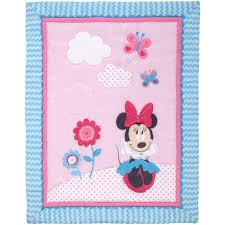 Minnie Mouse Bedding by Disney Minnie Mouse Happy Day 4 Piece Crib Bedding Set Walmart Com
