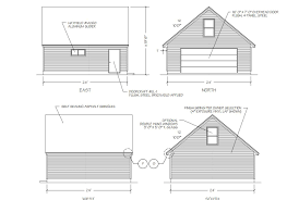 12x20 Shed Material List by 9 Free Plans For Building A Garage