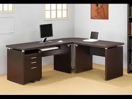 computer desk 2014 office l shaped desk with 2 shelves is