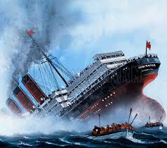 historical articles and illustrations blog archive the sinking
