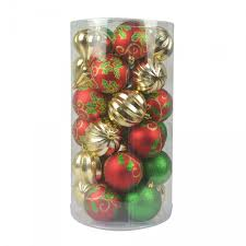 Combo 30Pc Christmas OrnamentMix Color
