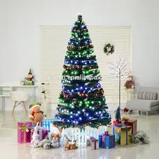 Fiber Optic Led Christmas Tree 7ft by Christmas Fibre Optic Decorations Christmas Fibre Optic