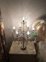 Crystal Table Lamps For Bedroom by Crystal Table Decorations For Weddings American Vintage Table Lamp