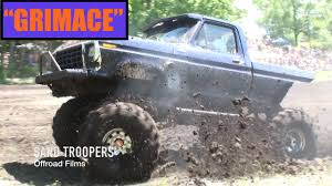 100 Ford Mud Truck GRIMACE Perkins Bog 1979 FORD TRUCK YouTube