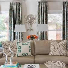 chevron curtains design ideas