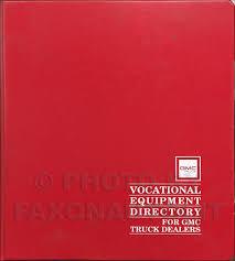 100 Dealers Truck Equipment 1990 GMC Vocational Special Dealer Album