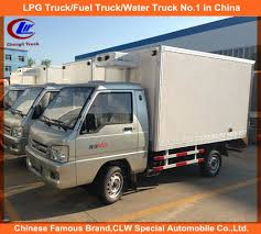 100 Used Water Trucks For Sale 1t Freezer Truck In Philippine Frozen Food Delivery