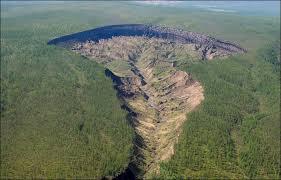 Mysterious Siberian Crater Batagaika Gateway To A Subterranean World Earth Changes Sott