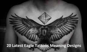 Full Chest Eagle Tattoos For Men