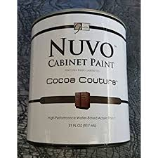 nuvo cabinet paint black deco quart amazon com
