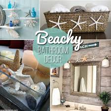 Pinterest Bathroom Ideas Beach by Beach Themed Decor Ideas U0026 Inspirations For A Summer Bathroom