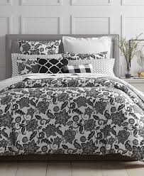 closeout charter club damask designs black floral bedding