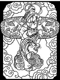 Chinese Designs Stained Glass Coloring Book 3