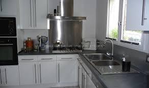 cr ence couleur cuisine credence pour cuisine blanche maison design bahbe com